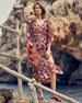 Chiara Boni La Petite Robe Kylo Ruched Floral One-Piece Swimsuit