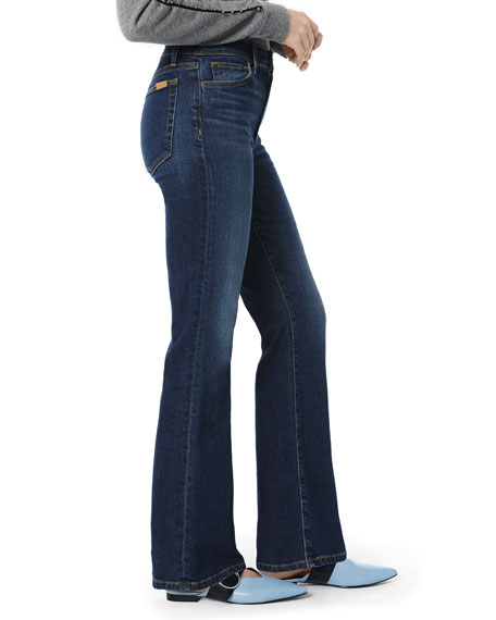 Image 2 of 3: The Provocateur High-Rise Petite Boot-Cut Jeans