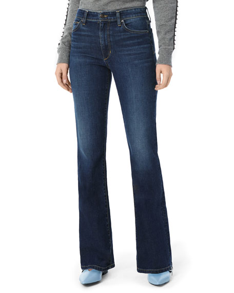 Image 1 of 3: The Provocateur High-Rise Petite Boot-Cut Jeans