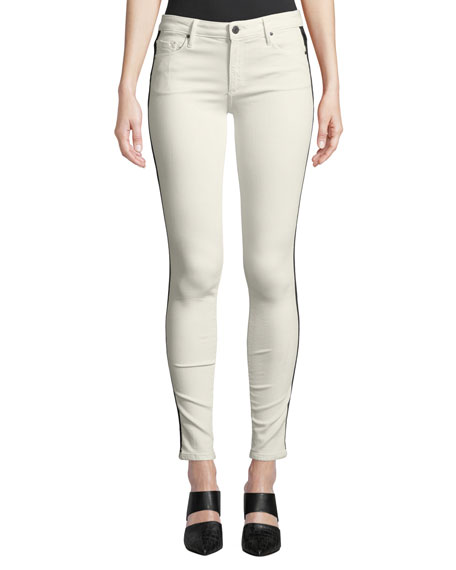 Black Orchid Jude Mid-Rise Skinny Jeans w/ Tuxedo