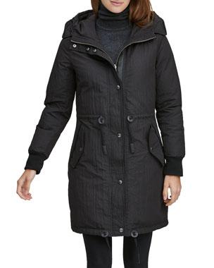 490daa772d88 Andrew Marc Brixton Reversible Jacket w/ Hood
