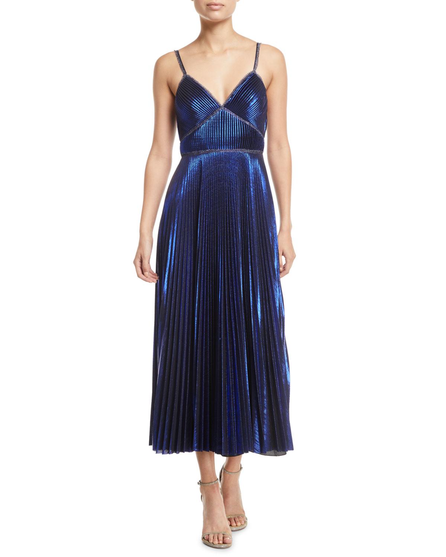 Sleeveless Tea Length Dresses
