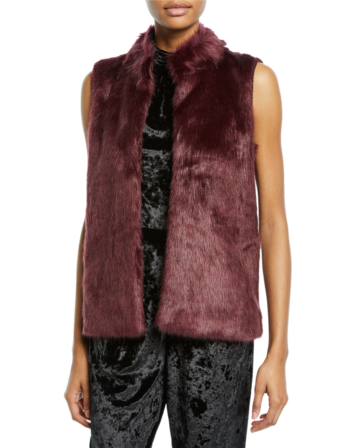 b8146542199 MICHAEL Michael Kors Sweater-Back Faux-Fur Vest and Matching Items ...
