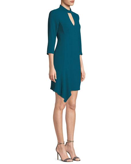 Nanette Lepore Heartthrob Cutout Mini Dress