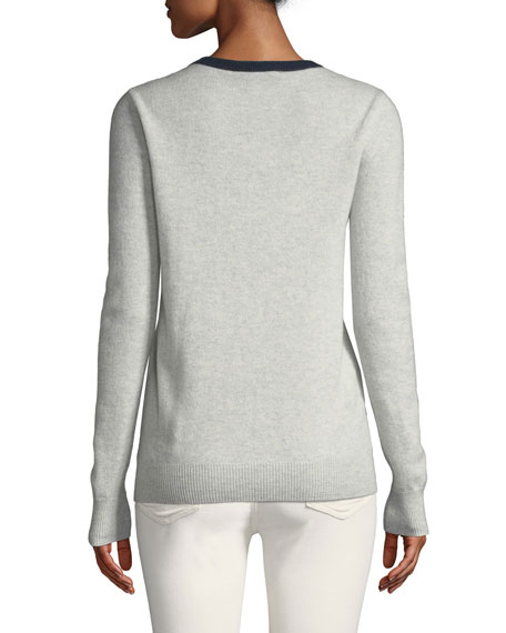 Autumn Cashmere Girl Boss Cashmere Crewneck Sweater