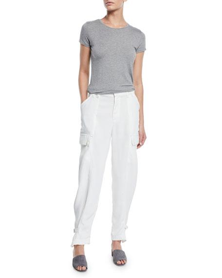 Joie Alexica Draped Cargo Pants