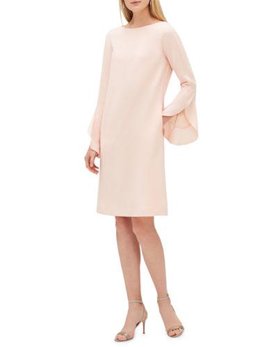 Emory Finesse Crepe Shift Dress