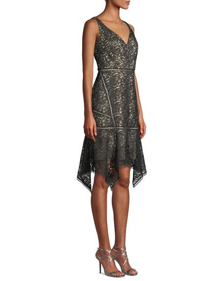 Elie Tahari Mariya Sleeveless Lace Dress