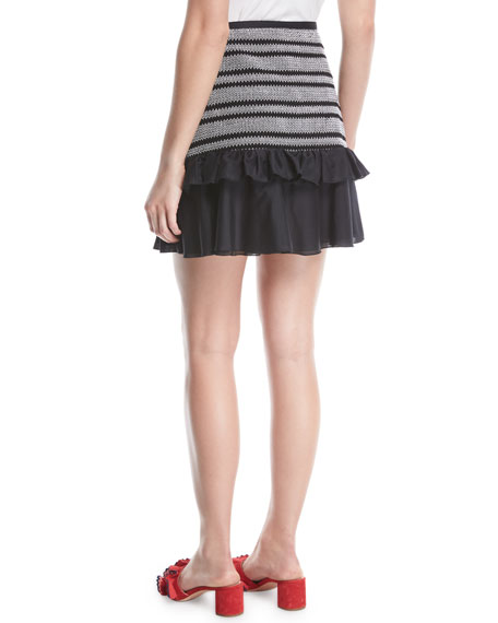 Kisuii Shirley Ruffle Wrap Coverup Skirt