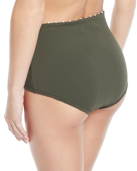 Marysia Corsica High-Waisted Bikini Bottom
