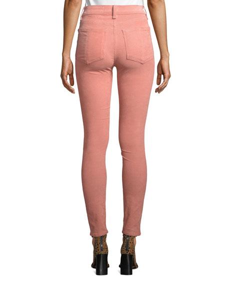 Rag & Bone High-Rise Corduroy Ankle Skinny Jeans