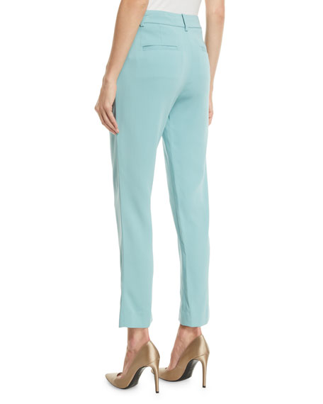 Tibi Stretch Suiting   Cropped Pants