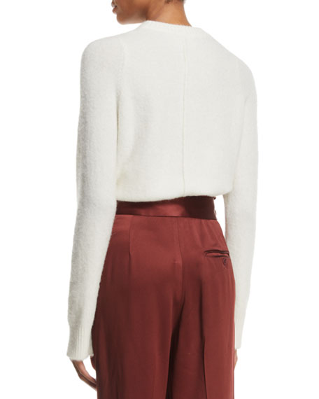 3.1 Phillip Lim Alpaca-Wool Embellished Pullover Sweater
