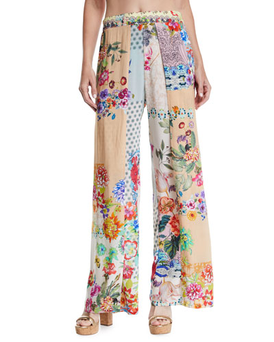 Dolce Dreamer Printed Coverup Pants