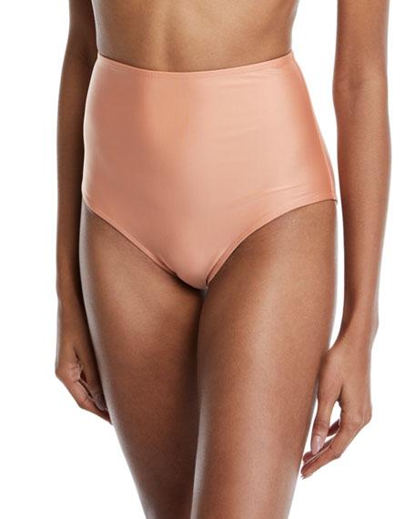 Agua de Coco Cruzeiro High-Waist Bikini Swim Bottoms