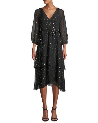 Raja Tiered Maxi Dress