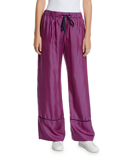 Maggie Marilyn Sing Me To Sleep Striped Pajama Pants