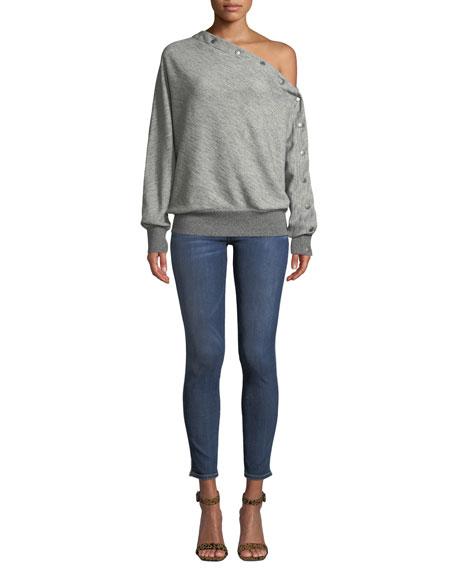 Hudson Barbara High-Waist Ankle Skinny Jeans