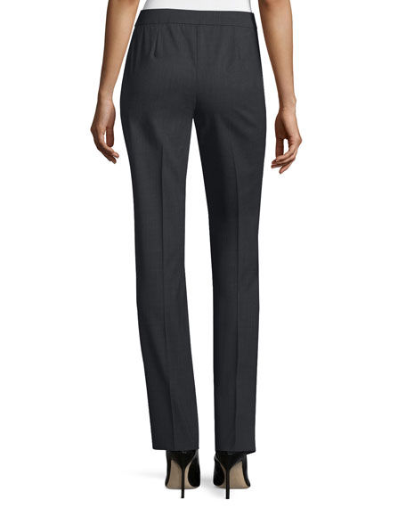 Lafayette 148 New York Plus Size Barrow Straight-Leg Pants