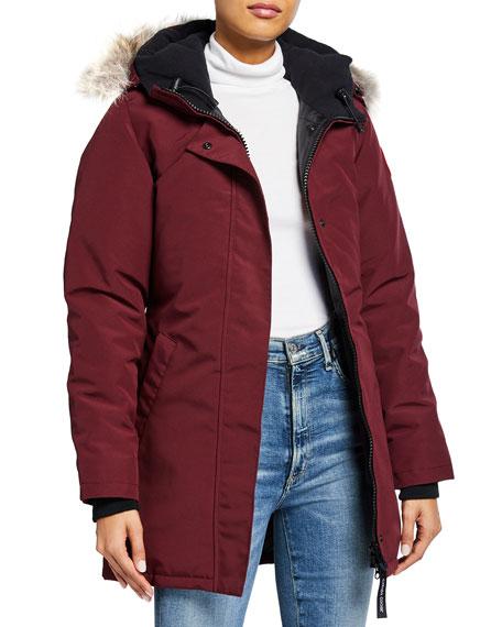 Canada Goose Victoria Fur Hood Parka Jacket Neiman Marcus
