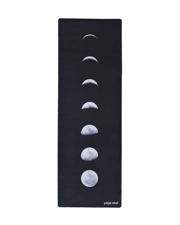Yoga Zeal Black Lunar Printed Yoga Mat