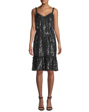 c0ea6f4d573 Needle   Thread Gloss Sequin Cami Dress