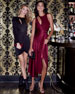 Donna Mizani Eleanora Asymmetric Wrap Dress