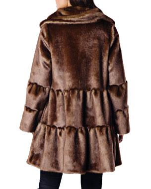 Black Coyote Fur Coat Neiman Marcus >> Women S Contemporary Jackets Coats At Neiman Marcus