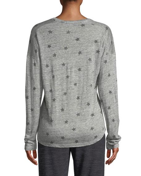 2e14d9e7902ba Rails Sami Star-Print Long-Sleeve Top | Neiman Marcus