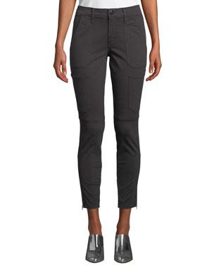 a40fdb87 J Brand Skinny Mid-Rise Ankle Utility Pants