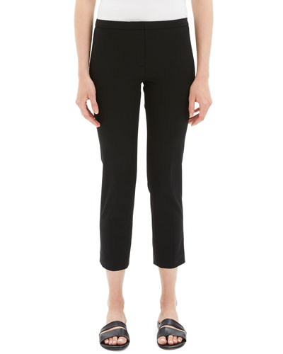Classic Double-Stretch Cropped Skinny Pants