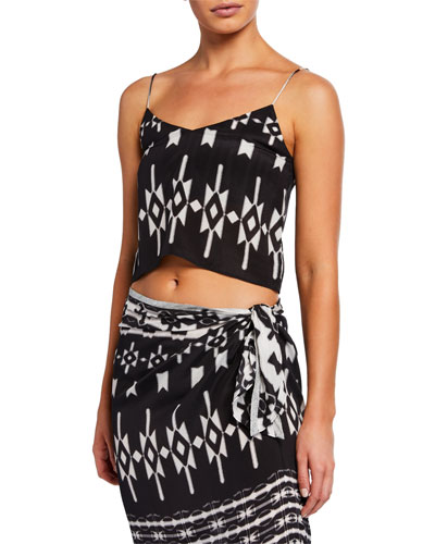 Cropped Camisole Top
