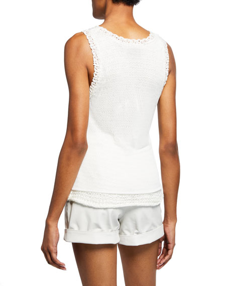 RtA Federica Double-Layer Knit Tank