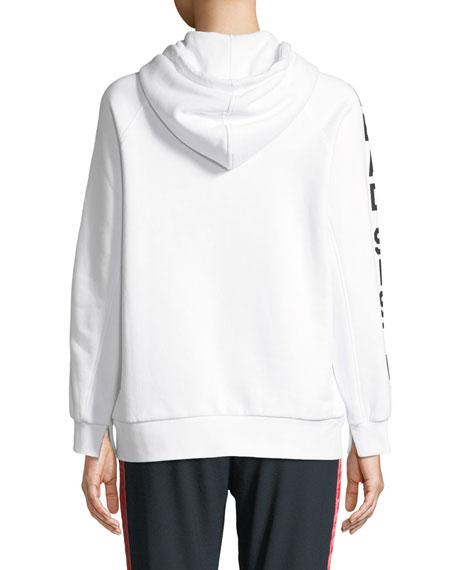 Zoe Karssen Lead Sister Hooded Boyfriend Sweatshirt