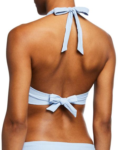 Heidi Klein U-Bar Underwire Halter Bikini Top, D-G Cup