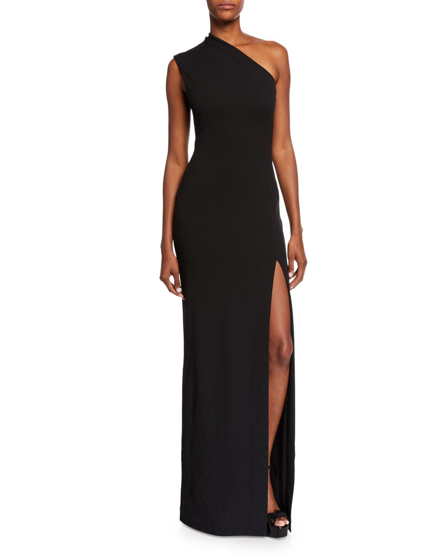 617c450688 Solace London Averie One-Shoulder Maxi Dress