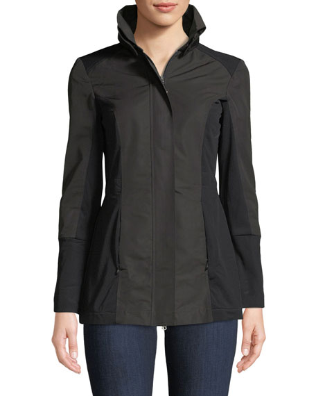 Anatomie City Slick Zip-Front Travel-Friendly Jacket