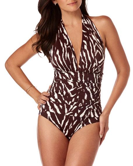 Magicsuit Claudia On Safari One-Piece Swimsuit