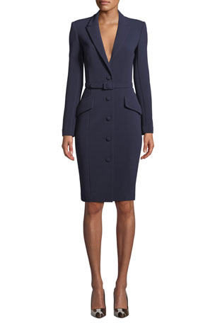 Badgley Mischka Collection Bodycon Jacket Dress