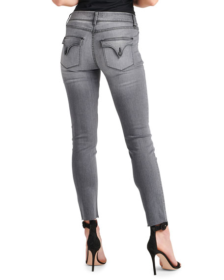 Image 3 of 3: Collin Raw-Hem Ankle Skinny Jeans