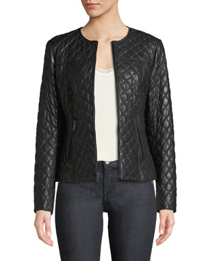Leather Jackets Coats For Women At Neiman Marcus