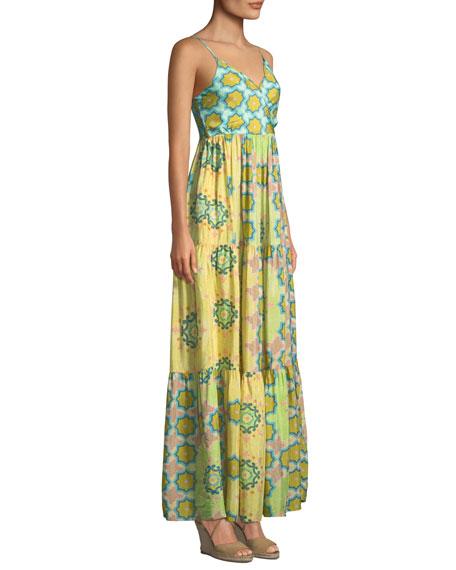 VERANDAH Maxi dresses BEACH BABE TIERED MAXI DRESS