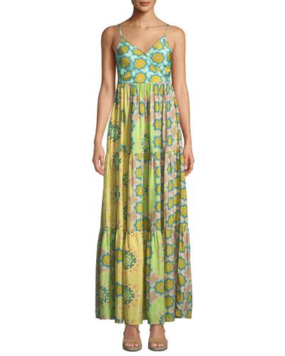 Beach Babe Tiered Maxi Dress