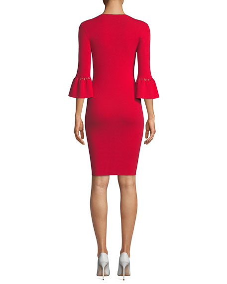 Trina Turk Blues Knee-Length Sweater Dress