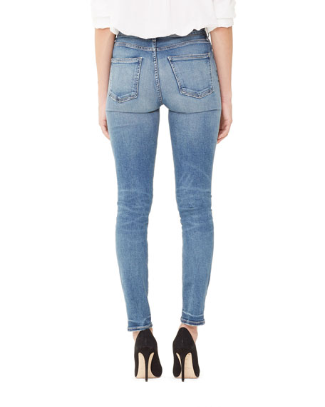 Citizens of Humanity Harlow High-Rise Ankle Straight-Leg Jeans
