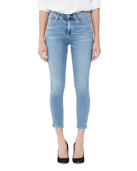 Citizens of Humanity Rocket Crop High-Rise Skinny Jeans, Serenity