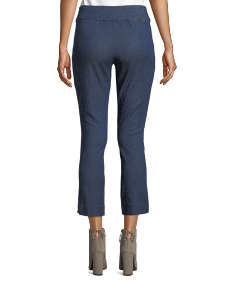 NIC+ZOE Ticket Denim Cropped Pants