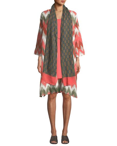 Masai Heat Scoop-Neck Sleeveless Jersey Dress