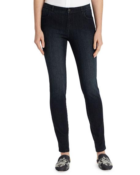 Lafayette 148 New York Plus Size Mercer Stretch-Denim Slim-Leg Jeans