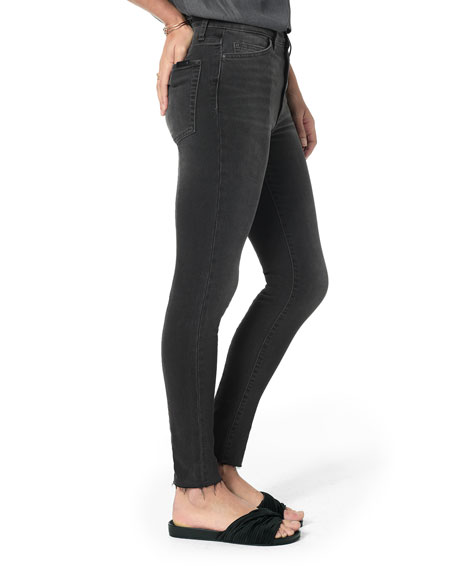 Joe's Jeans The Charlie Ankle High-Rise Skinny with Hidden Zipper